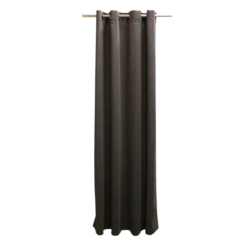 vtwonen Gordijn kek - Denim black - 140cm x 280cm | Gordijnen.nl