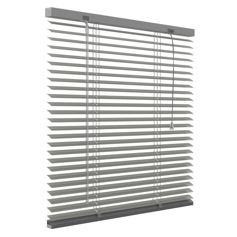 Aluminium jaloezie 25mm - Grijs - 120cm x 180cm