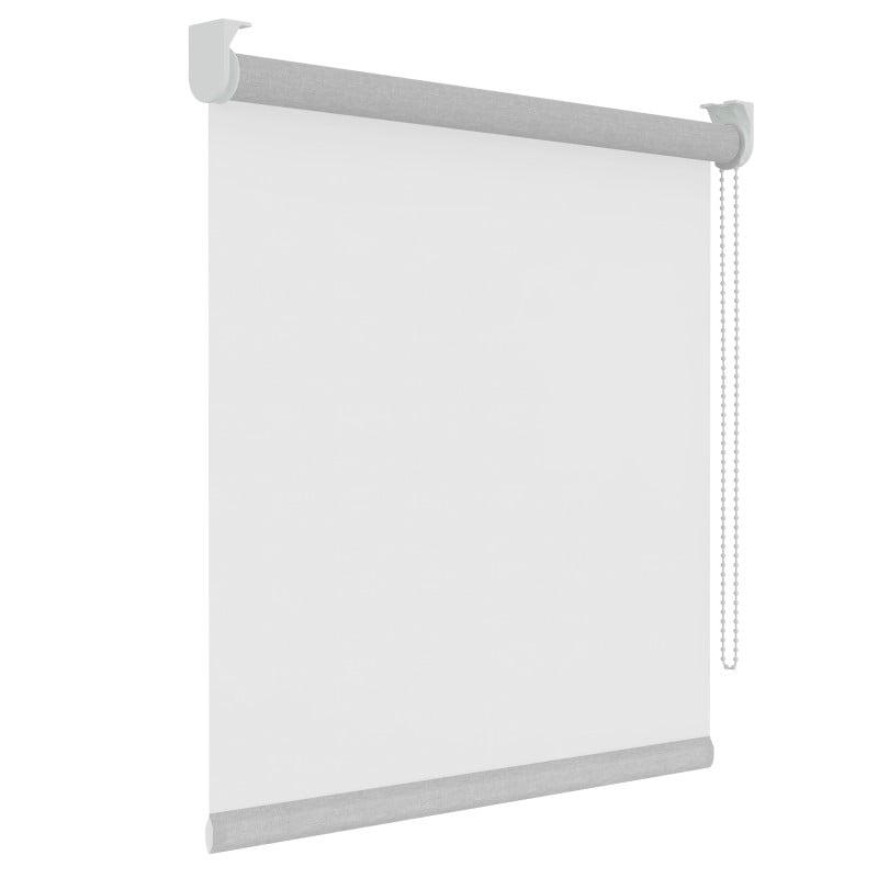 Rolgordijn - Lichtdoorlatend - Transparant Wit - 210cm x 190cm