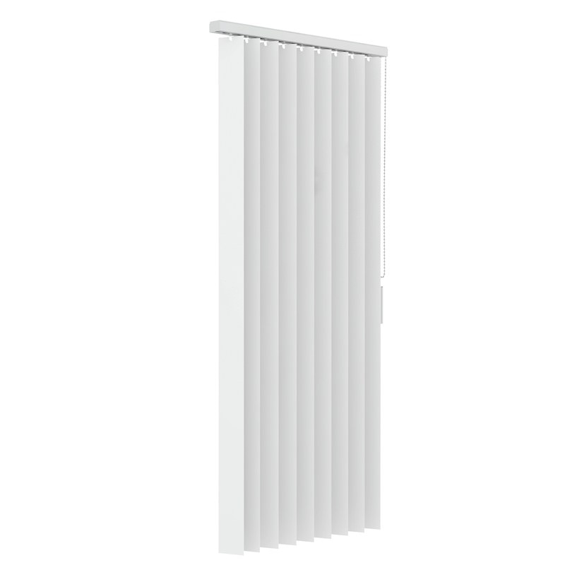 Verticale lamellen PVC 89mm - Wit - 90cm x 180cm