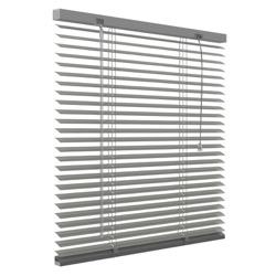 Aluminium jaloezie 25mm - Grijs - 80cm x 130cm