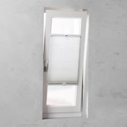 Plisségordijn dubbel gespannen - Wit - 100cm x 130cm