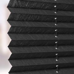 Plisségordijn gespannen - Lichtdoorlatend - Raven Grey - 120cm x 130cm