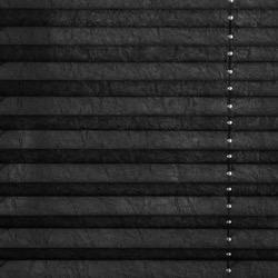 Plisségordijn gespannen - Lichtdoorlatend - Raven Grey - 60cm x 130cm