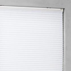 Plissé Gordijn - Wit - 90cm x 130cm