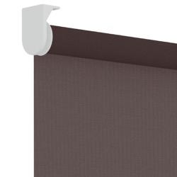 Rolgordijn - Lichtdoorlatend - Chocoladebruin - 90cm x 190cm