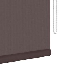 Rolgordijn - Lichtdoorlatend - Chocoladebruin - 180cm x 190cm