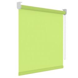 Rolgordijn - Lichtdoorlatend - Limoen - 90cm x 190cm