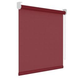 Rolgordijn - Lichtdoorlatend - Rood - 90cm x 190cm