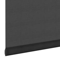 Rolgordijn - Lichtdoorlatend - Zwart - 210cm x 190cm