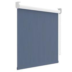 Rolgordijn - Verduisterend - Grijsblauw - 90cm x 190cm