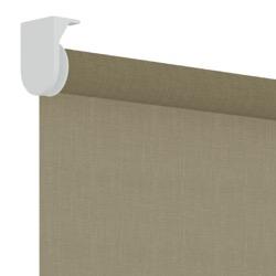 Rolgordijn structuur - Taupe - Lichtdoorlatend - 120cm x 190cm