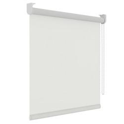 Rolgordijn structuur - Wit - Lichtdoorlatend - 150cm x 190cm