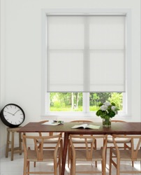 Rolgordijn structuur - Wit streep - Lichtdoorlatend - 60cm x 190cm