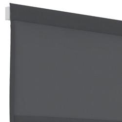 Vouwgordijn - Antraciet - Lichtdoorlatend - 60cm x 180cm