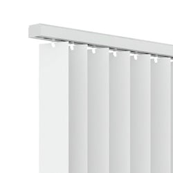 Verticale lamellen PVC 89mm - Wit - 250cm x 180cm