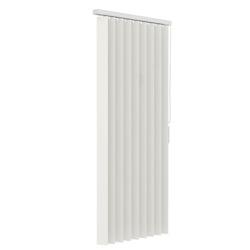 Verticale lamellen PVC 89mm - Gebroken wit - 90cm x 180cm