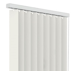 Verticale lamellen PVC 89mm - Gebroken wit- 90cm x 130cm