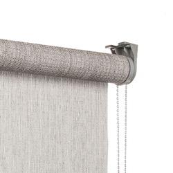 vtwonen Rolgordijn structuur - Mist light grey - Lichtdoorlatend - 150cm x 190cm