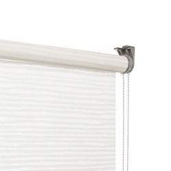 vtwonen Rolgordijn structuur - Snow white - Lichtdoorlatend - 60cm x 190cm
