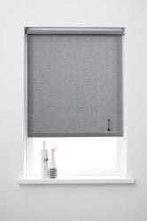 vtwonen Rolgordijn structuur - Storm dark grey - Lichtdoorlatend - 210cm x 190cm