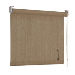 vtwonen Rolgordijn structuur - Zand streep - Lichtdoorlatend - 60cm x 190cm