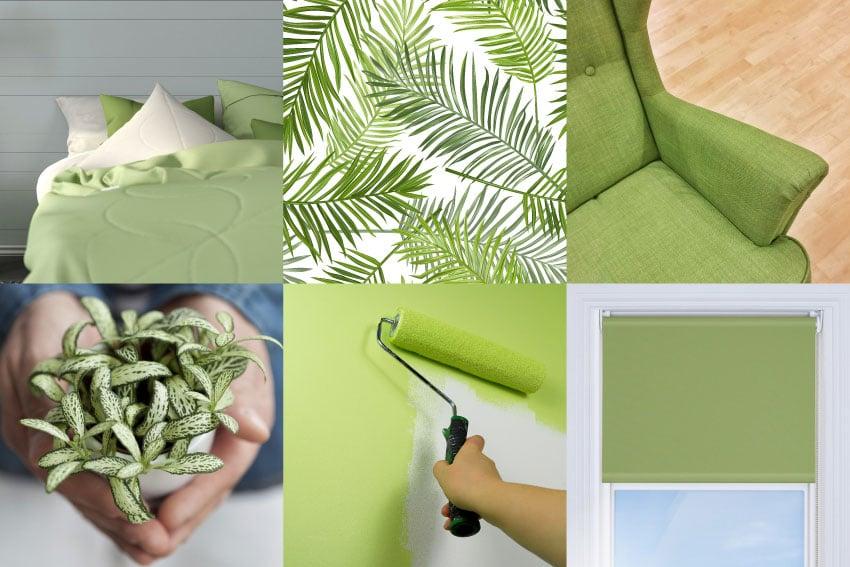 groene woonaccessoires