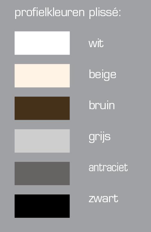 frame kleuren