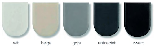 afdekkap kleuren