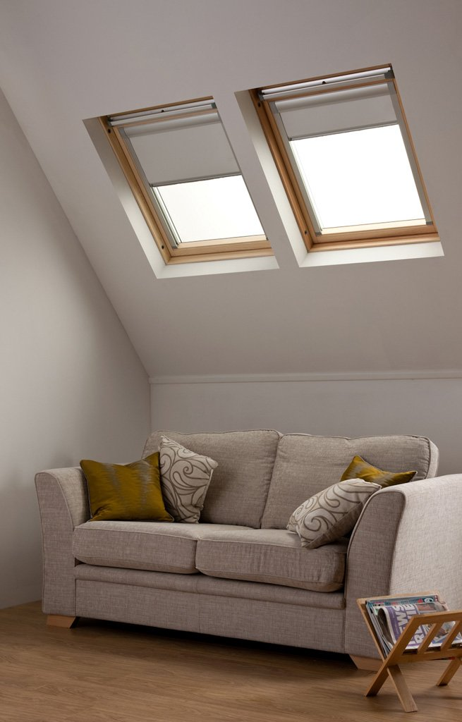 Dachfensterrollos f r velux dachfenster Velux skylight shade